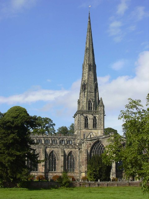 St Oswalds Church, Ashbourne