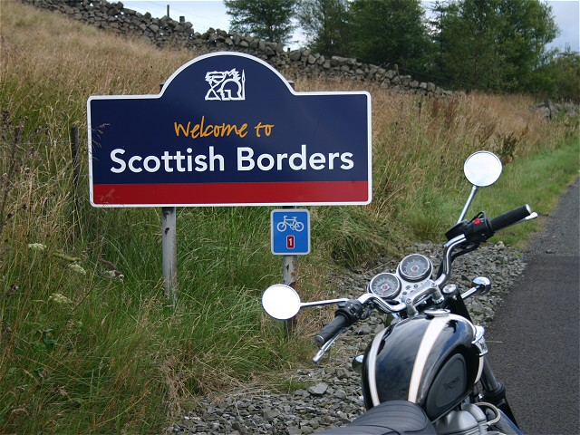 Into the Scottish Borders