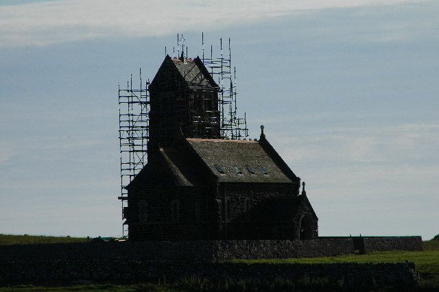 Church on Isle of Sanday