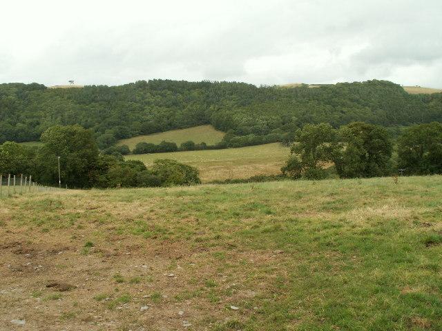 Farmland, Ystywth valley