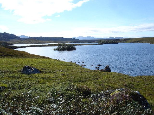 North end of Loch a' Bhaid-luachraich