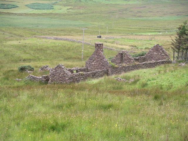 Ruined Croft, Polglass