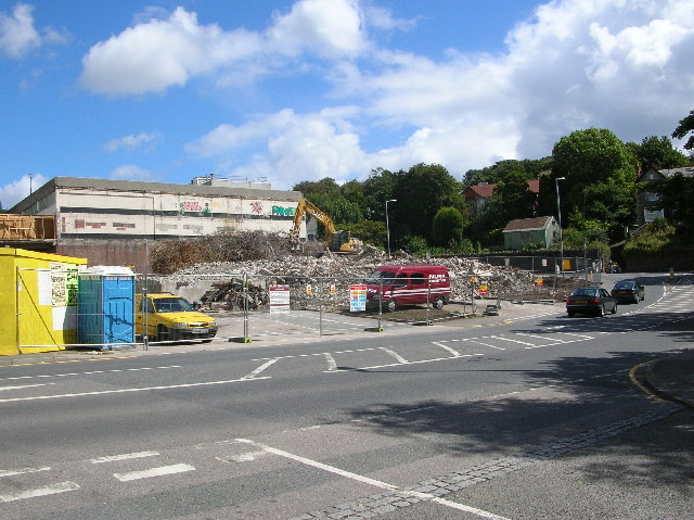 St Austell town centre redevelopment