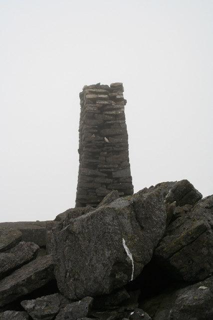 Obelisk on Mynydd Tal-y-mignedd
