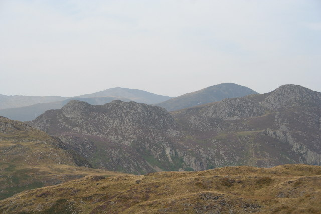 Carnedd Llewelyn from above Capel Curig
