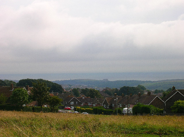 Woodingdean from Norton Drive