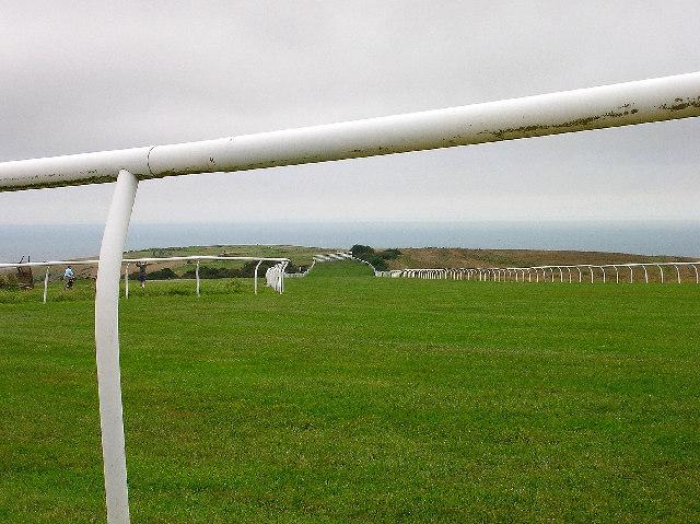The starting area, Brighton Racecourse