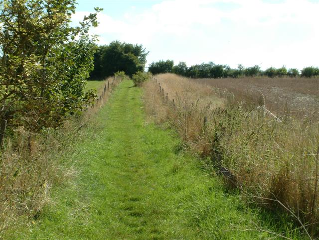 Footpath to Warrens Chase