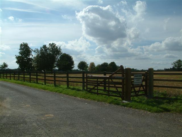 Ewelme Park Entrance