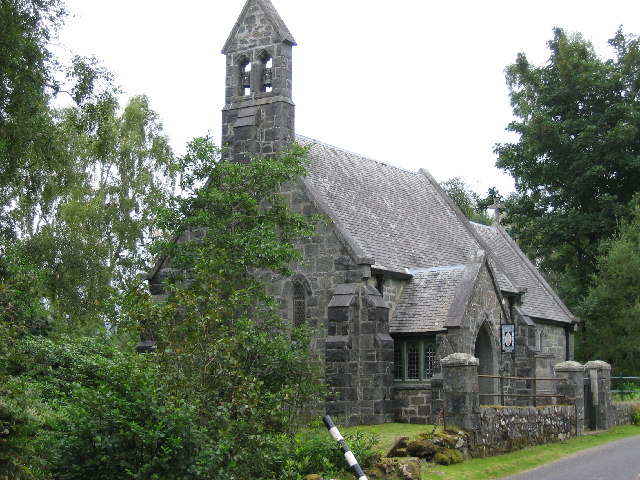 St James's Church, Ardbrecknish, Port Sonachan, Argyll