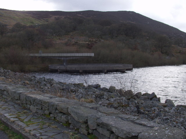 Spillway at Llyn Celyn