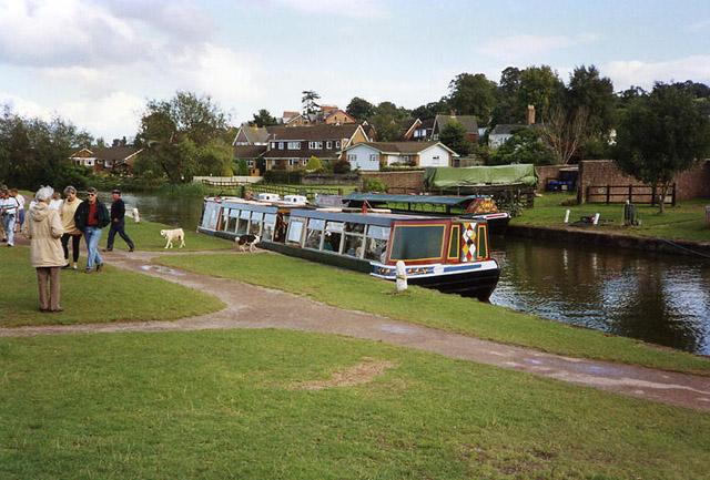 Tiverton: Grand Western Canal terminus