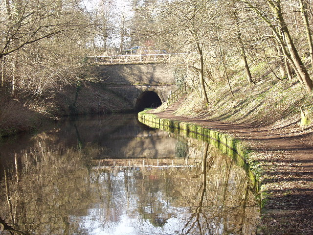 "The west entrance to Ellesmere ""tunnel"""