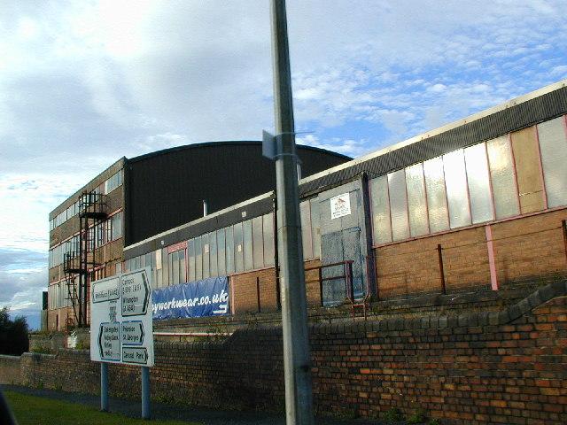 Former metal works at Oakengates