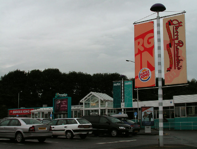 Motorway Services, Burton-in-Kendal