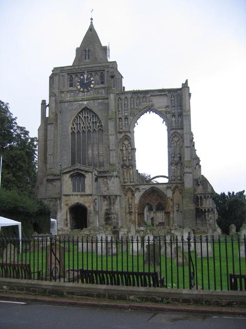 Croyland Benedictine Abbey, Lincs