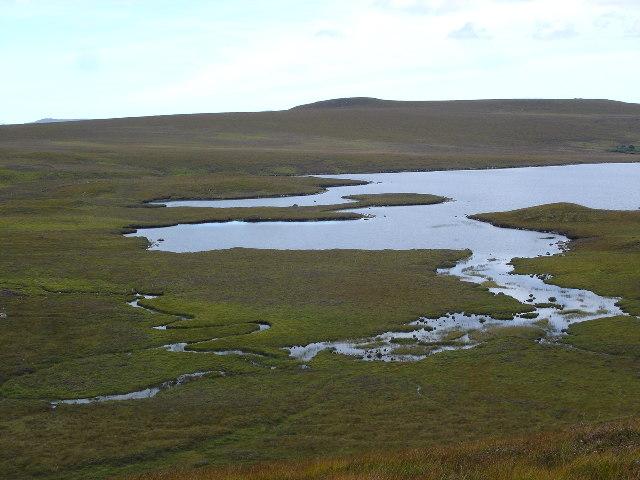 The Southern end of Loch a' Bhaid-luachraich