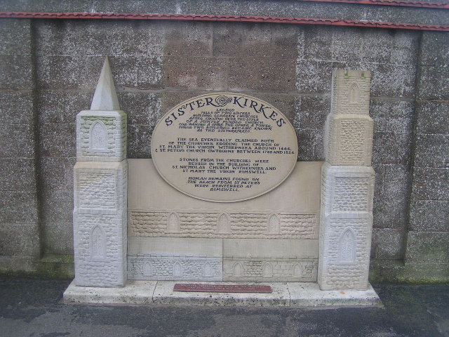 Sisterkerkes Plaque, Withernsea