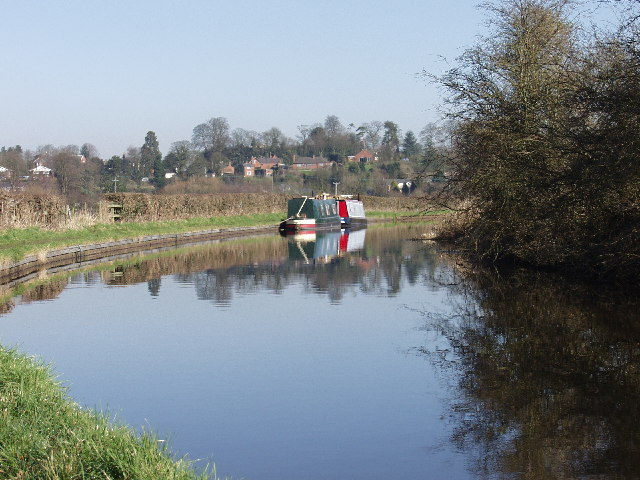 Shropshire Union Canal at Tetchill