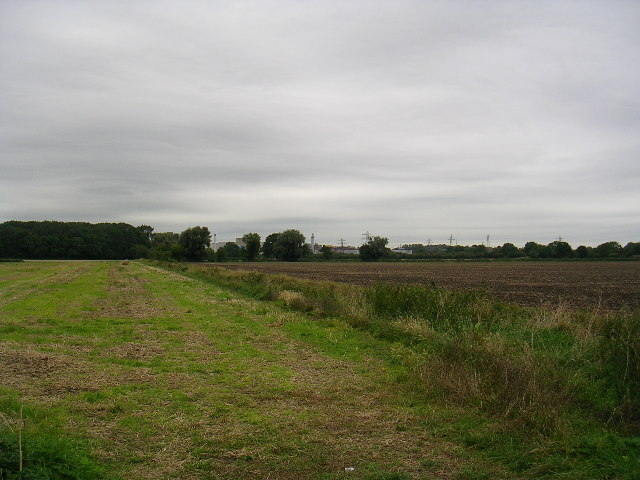 Rolls Royce Factory from Sinfin Moor Lane