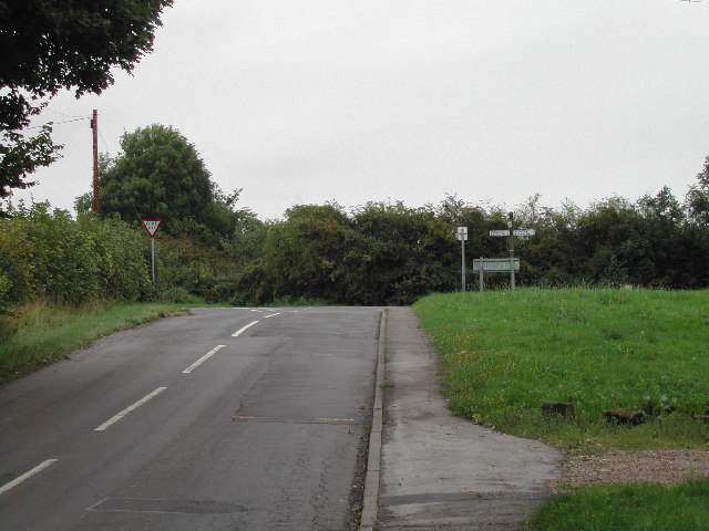 Junction of Cotgrave Lane and Cotgrave Road