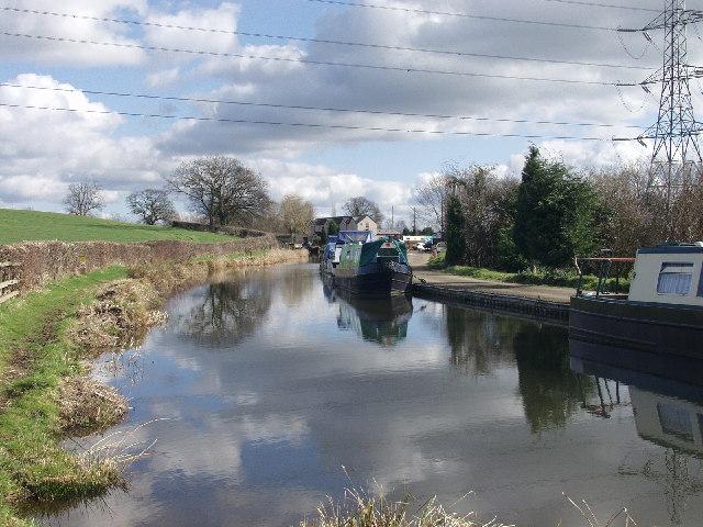 Llangollen Canal at Maestermyn