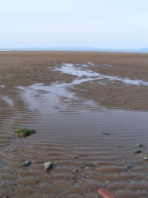 Allonby Beach, Low Tide