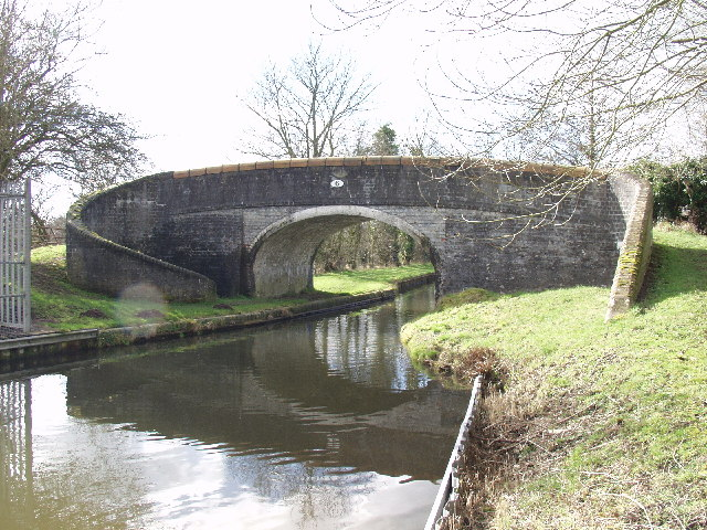 """Pollets"" Bridge on the Llangollen Canal"