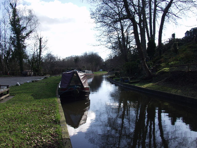Llangollen Canal at Chirk Bank
