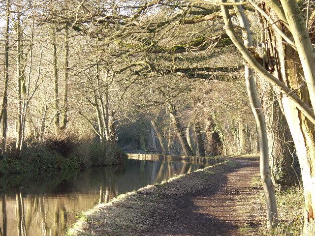 Llangollen Canal at Ellesmere (Salop)