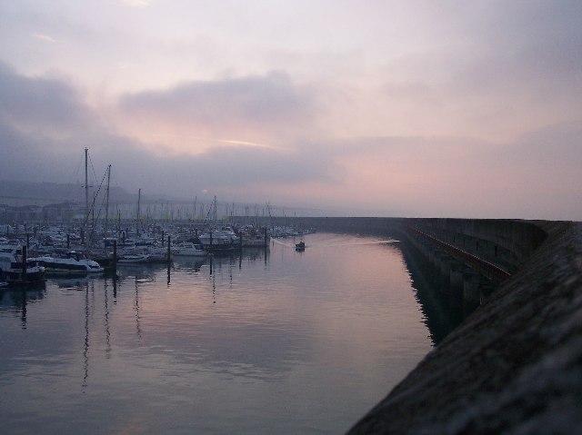 Brighton Marina at Dawn