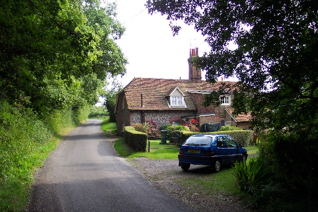 Fastings Cottage, Chanctonbury Ring Road