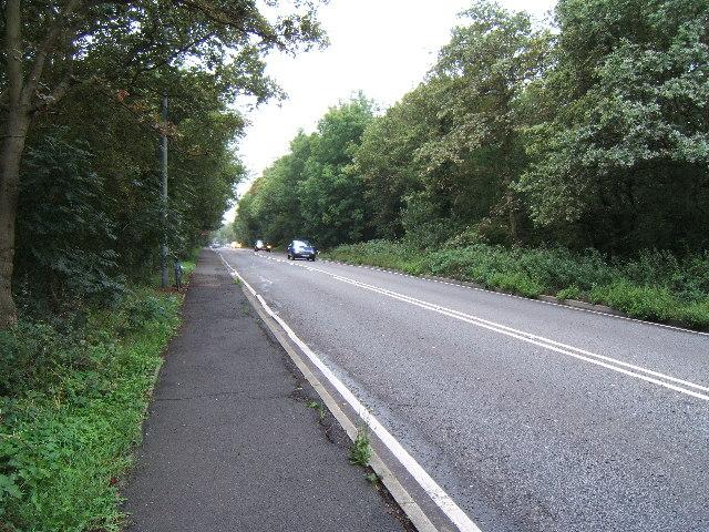 A243 near Telegraph Hill