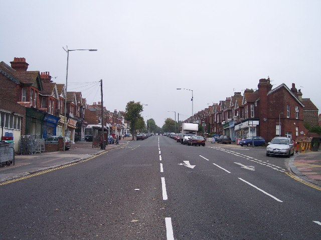 Ditchling Road from Five Ways Junction