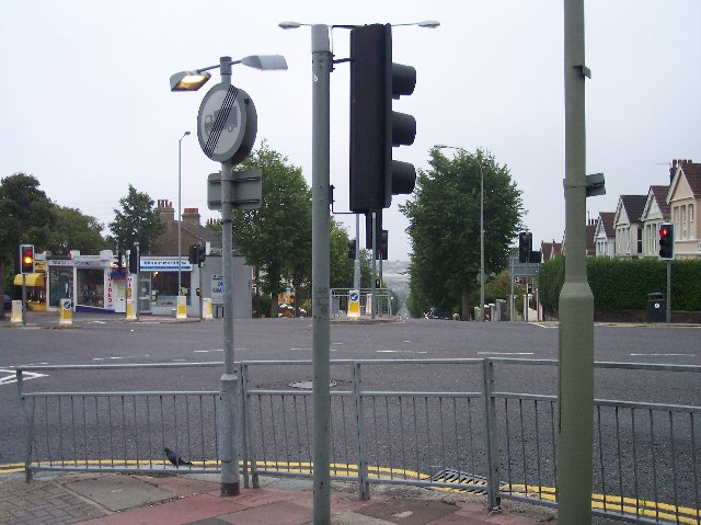 Five Ways Road Junction, Ditchling Road, Brighton