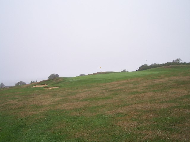 Golf Course near Hollingbury HillFort.