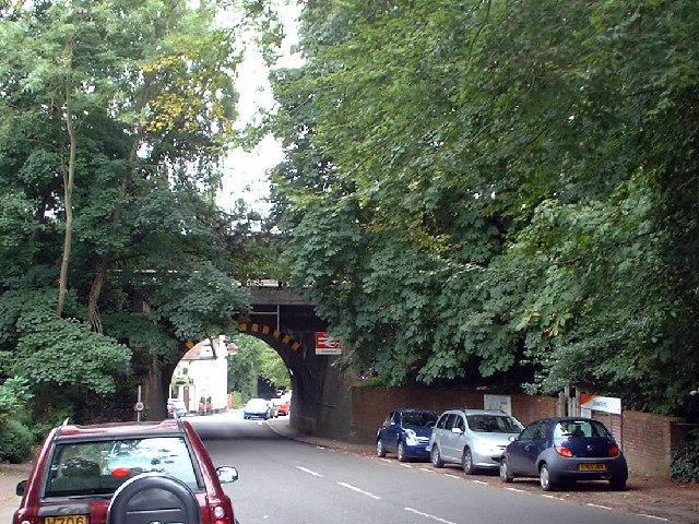 Railway bridge at Shawford