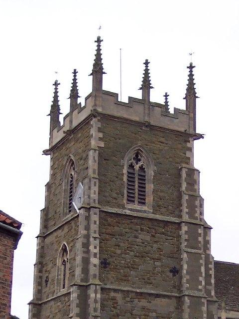 Saint Wilfrid's Church (detail)