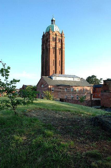 Water Tower, Hollymoor Hospital, Northfield, Birmingham