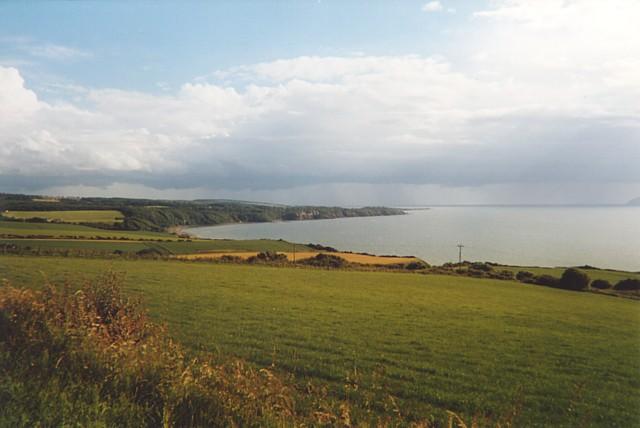 The Ayr coast south of Drumshang