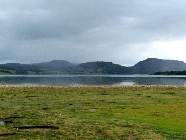 Loch Fleet from the east bank