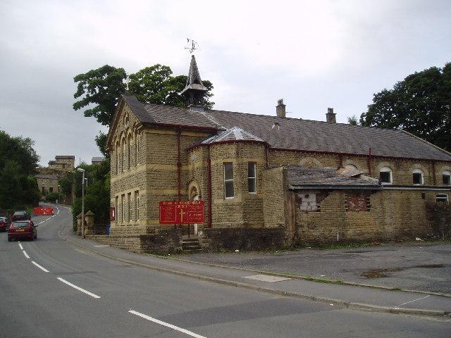 Hallfold United Reformed Church, Whitworth, Lancashire