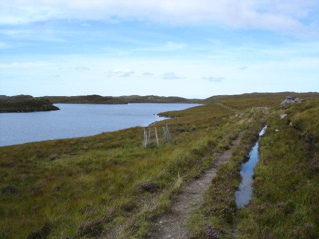 Drumchort to Fionn Loch Track