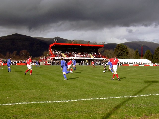 Beechwood Park, Sauchie. Football ground