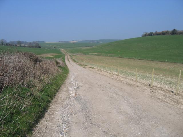 Farm track , Charminster, Dorset