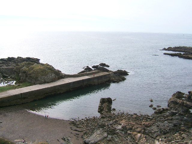 The harbour at Cove Bay