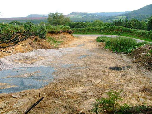 Newly Dug Pit for Road Repairs, Snilesworth