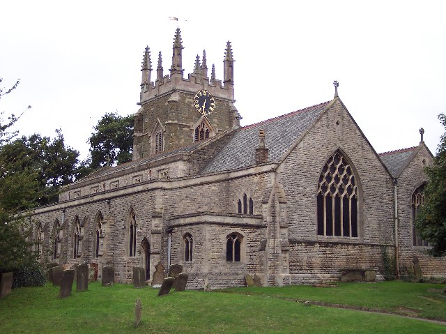 St. James; Spilsby, Lincs (+ Church / Boston Roads)