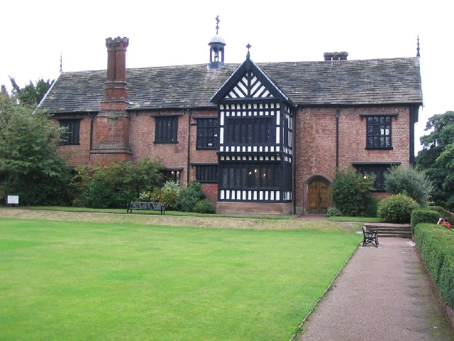 Bramhall Hall, South Wing