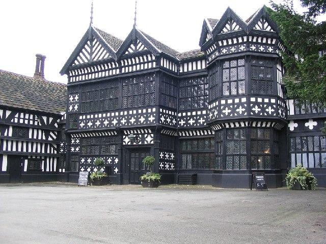Bramhall Hall Main Entrance